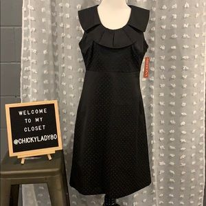 "MERONA ""collection"" black dot dress"